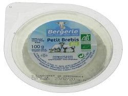 Bergerie Organic Sheeps Cheese Fresh 100g