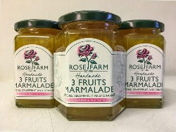 Rose Farm 3 Fruits Marmalade