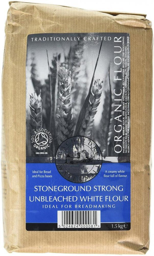 Bacheldre Organic Stoneground Strong White Flour 1.5Kg