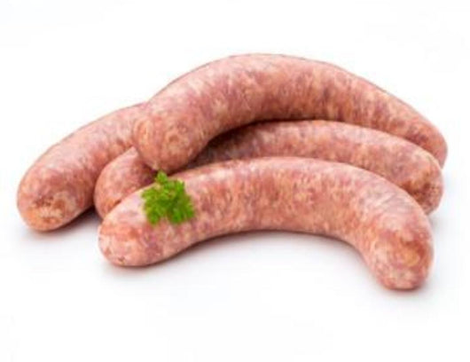 Steak & Horseradish Sausages