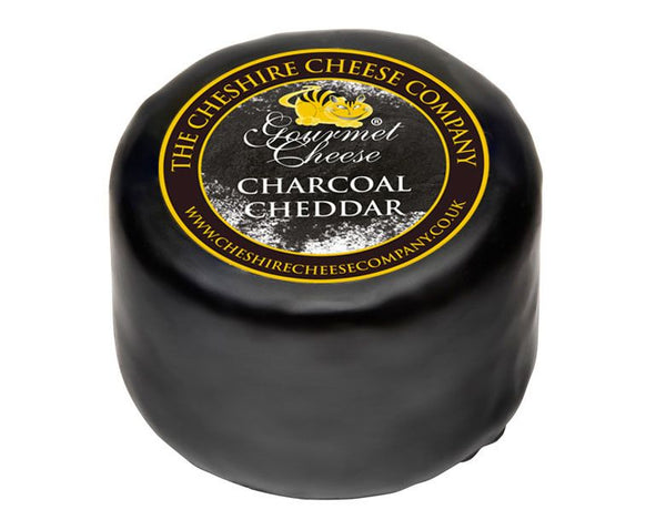 Cheshire Cheese Co, The - Mature Cheddar Cheese blended with Charcoal