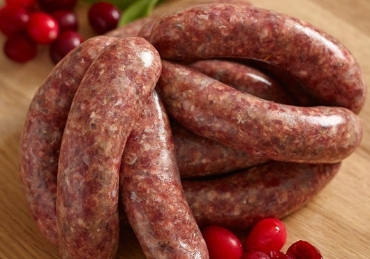 Pork & Cranberry Chipolatas (12)