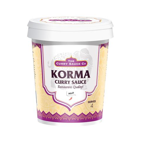 Mild Korma Curry Sauce - The Curry Sauce Co