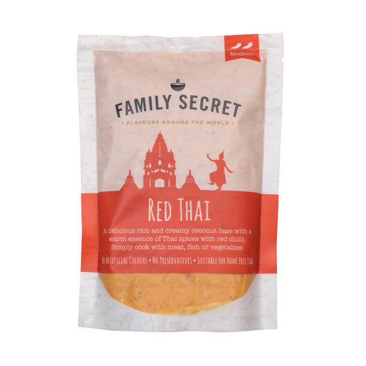 Family Secret - Red Thai Curry Sauce