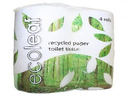 Toilet Paper Roll Recycled - 4 pack
