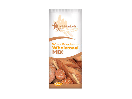 White bread flour with added wholemeal 3.5kg