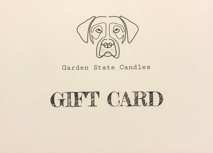 Candle Making Gift Card