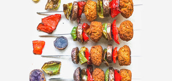 Wundernuggets Veggie Kebab in the Flexitarian way!