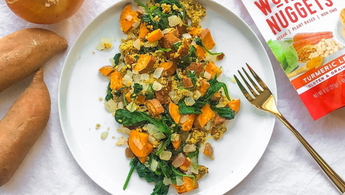 Turmeric Breakfast Scramble - No Eggs!