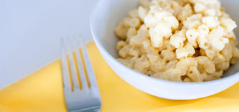 Chickpeas and Pearl Millets Flour Macaroni and Cheese
