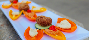 Make this quick and healthy appetizer with Wundernuggets in 10 minutes!