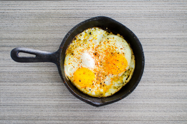Spiced Sunny Side Up