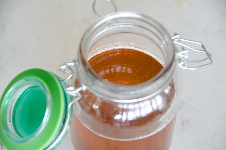 homemade ghee, sometimes referred to as brown butter