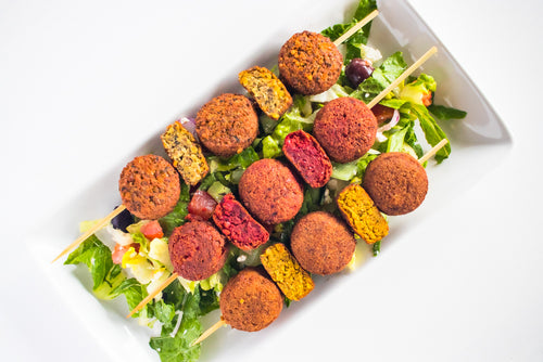 6 Pack Mediterranean Lentil, Turmeric Lentil, and Harissa Bean Wunder Nuggets - Plant-based, Gluten and Grain Free