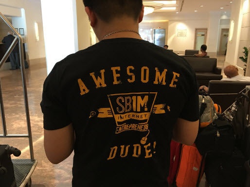 Tshirt SB1M Black - Awesome Dude