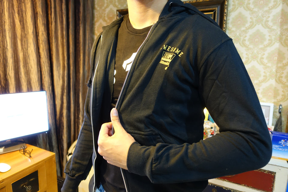 Jaket SB1M Black - Awesome Dude