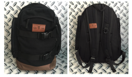 Back Pack Black SB1M Thunder