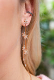 Dangly Petal Earrings