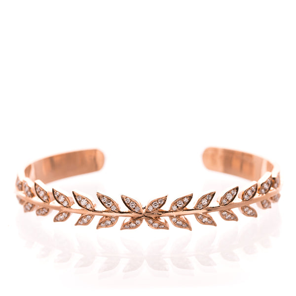 Wheat Bangle - LimeLiteJewellery.com