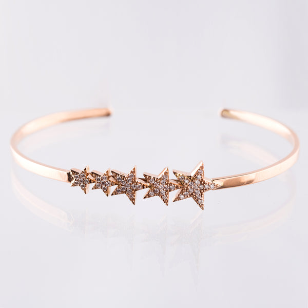 Star Bangle - LimeLiteJewellery.com