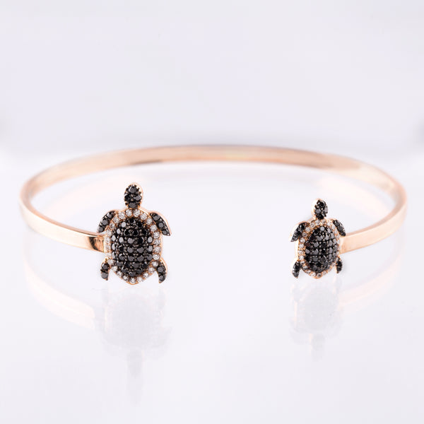 Turtle Bangle - LimeLiteJewellery.com