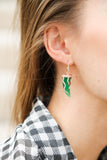 Green Envy Earrings - LimeLiteJewellery.com