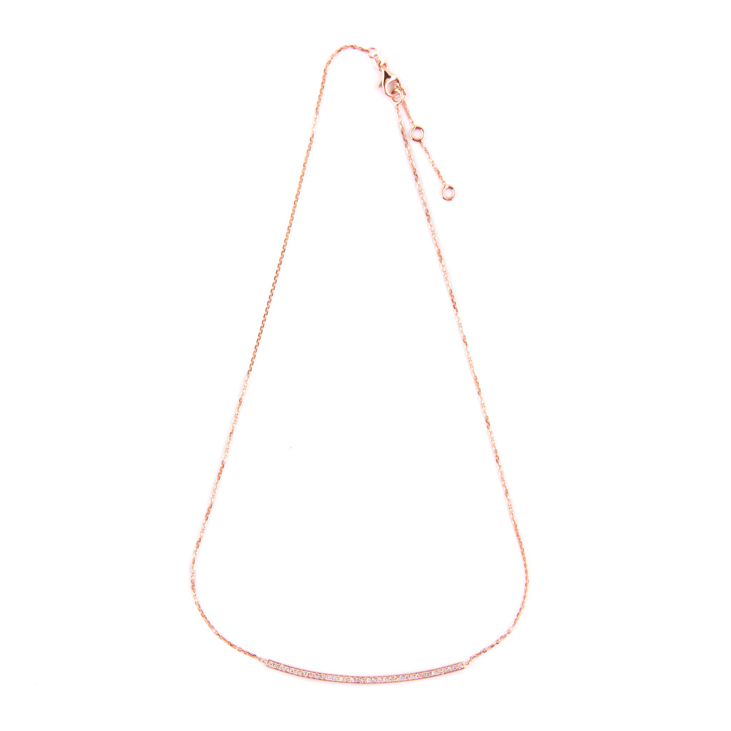 Bar Necklace - LimeLiteJewellery.com