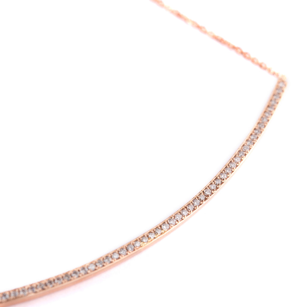 Bar Necklace Long