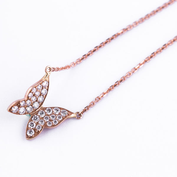 Butterfly Necklace - LimeLiteJewellery.com