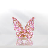 Butterfly Ring Green or Pink