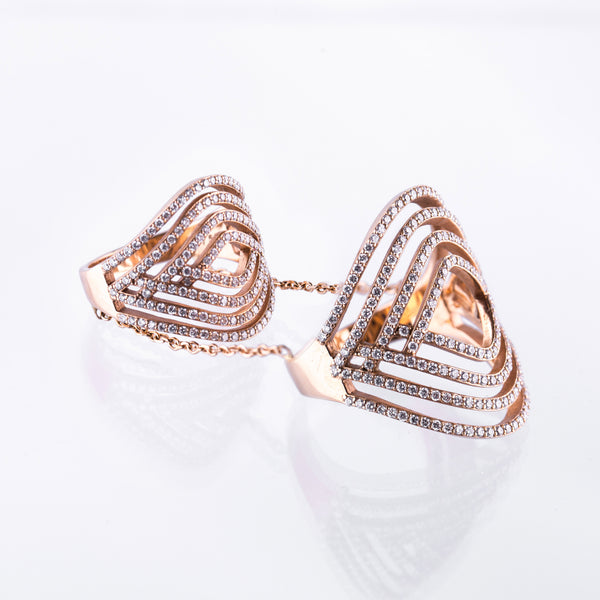 Double Diamond Ring