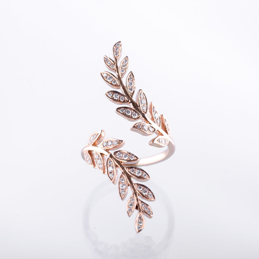 Wheat Ring - LimeLiteJewellery.com