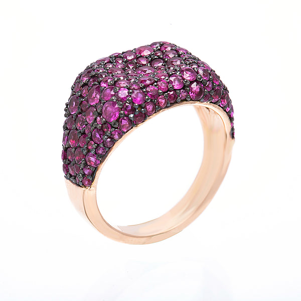 Pink Cube Ring
