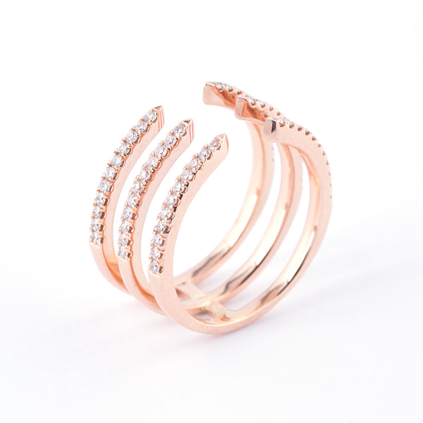 Big Gravity Ring - LimeLiteJewellery.com