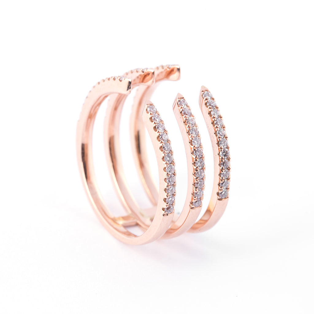 Gravity Pinky Ring - LimeLiteJewellery.com