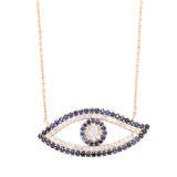 Evil Eye Necklace - LimeLiteJewellery.com