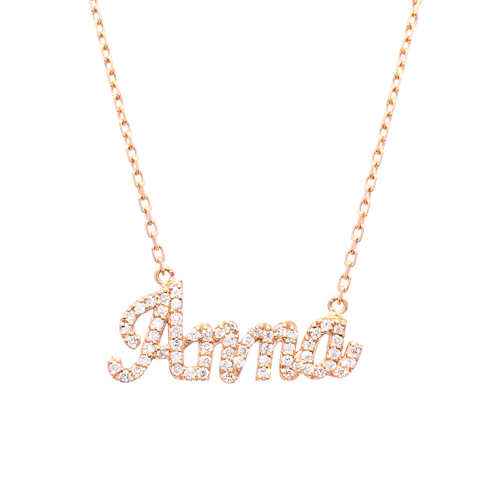 Name Necklace - LimeLiteJewellery.com