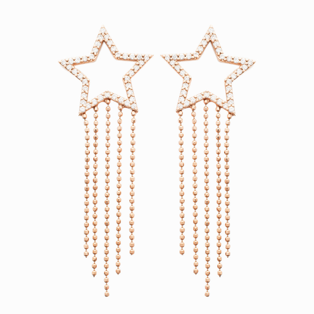 Shooting Star Earrings - LimeLiteJewellery.com