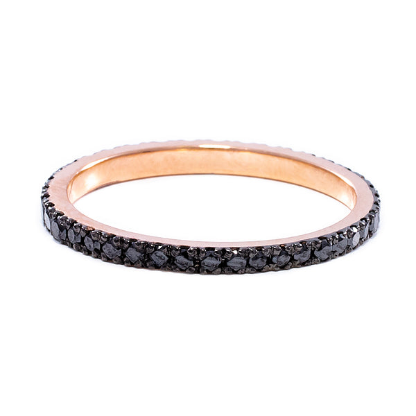 Black Eternity Ring