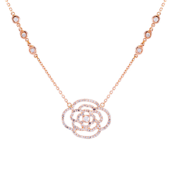 Camelia Necklace