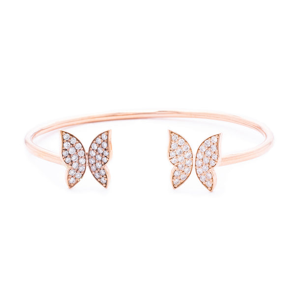 Butterfly Bangle - LimeLiteJewellery.com