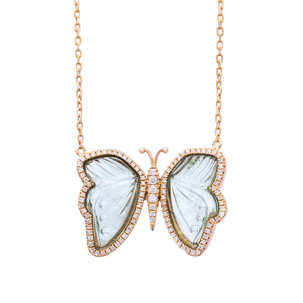 Blue Romance Necklace - LimeLiteJewellery.com