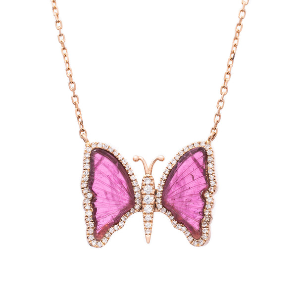 Pink Romance Necklace - LimeLiteJewellery.com