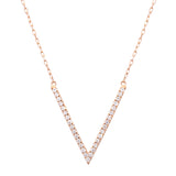 V Necklace - LimeLiteJewellery.com