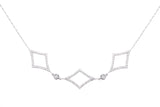 Diamond Shape Necklace - LimeLiteJewellery.com