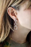 Shapes Drop Earrings - LimeLiteJewellery.com