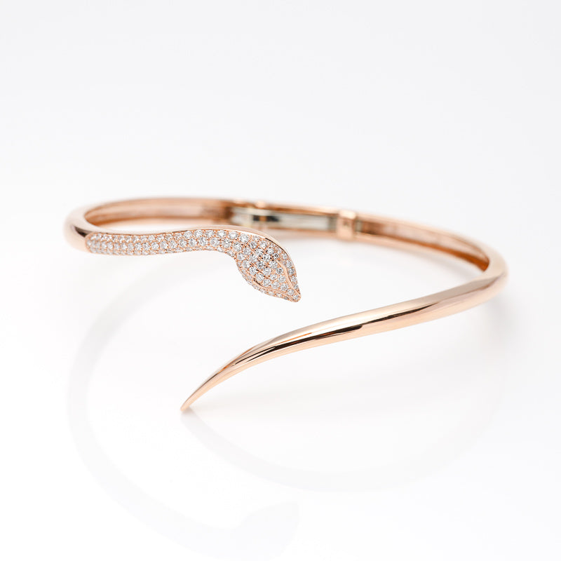 Snake Cuff - LimeLiteJewellery.com