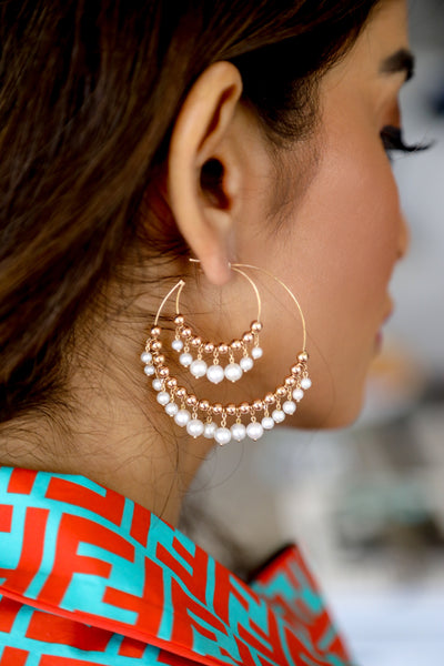 Gypsy Hoop Earrings - LimeLiteJewellery.com