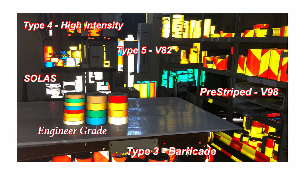 10 Different Types of Reflective Tape.  Which is Best for Your Application?