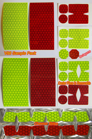 Sample Packs for Diamond Plate Shapes